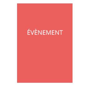 bouton animé événements