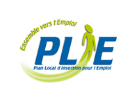 Logo PLIE Plan Local d'insertion pour l'emploi